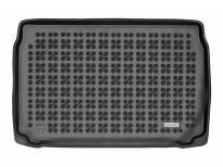 1-Гумена патосница за багажник Rezaw-Plast на Citroen DS3 Crossback после 2019 година со звукова система Focal, 1 част, црна