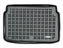 1-Гумена патосница за багажник Rezaw-Plast на Ford Ecosport после 2012 година во долно положение на багажник, 1 част, црна