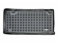 1-Гумена патосница за багажник Rezaw-Plast на Ford Tourneo Custom L1 после 2013 година кратка база со 8, 9 места и без нагревател во задната част на автомобилот, 1 част, црна