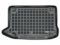 1-Гумена патосница за багажник Rezaw-Plast на Hyundai Kona после 2017 година со Subwoofer, 1 част, црна