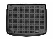 1-Гумена патосница за багажник Rezaw-Plast на Kia Xceed после 2019 година во горно положение на багажника, 1 част, црна
