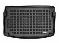 1-Гумена патосница за багажник Rezaw-Plast на Audi A1 GB после 2018 година во горно положение на багажника, 1 част, црна