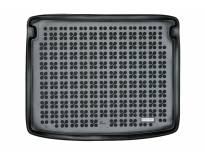 1-Гумена патосница за багажник Rezaw-Plast на Jeep Compas MP/552 после 2017 година во горно положение на багажника, 1 част, црна