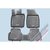 Гумени стелки Rezaw-Plast за VW ID.3, ID.3 ST след 2019 година, 3 части, черни
