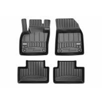 3D гумени патосници Frogum за Volvo XC40 после 2017 година, 4 части, црни