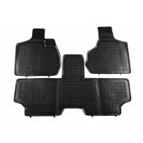 Rezaw-Plast All-Weather Mats for Chrysler Voyager 2001-2006 3 pieces Black